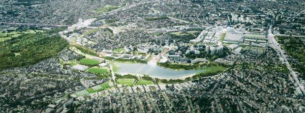L'écoquartier Sevran - Terres d'avenir se veut exemplaire pour ses actions en faveur d'un développement durable du territoire