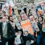 Mobilisation pour la campagne Long Live Southbank à Londres
