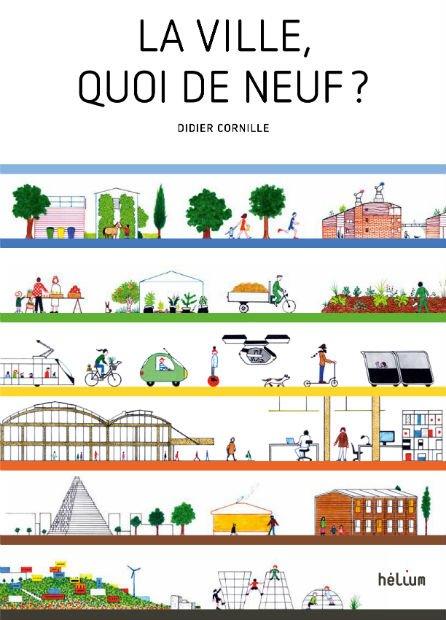 """couverture de """"La ville quoi de neuf ?"""" Prospective urbaine pour marmots curieux"""