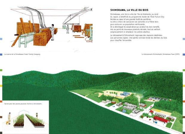 """Shimokawa, la ville du bois Cap sur le Japon innovant dans """"La ville quoi de neuf ?"""""""