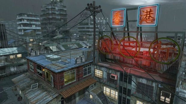 Sale temps sur Hong-Kong dans Call of Duty: Black Ops (2010)