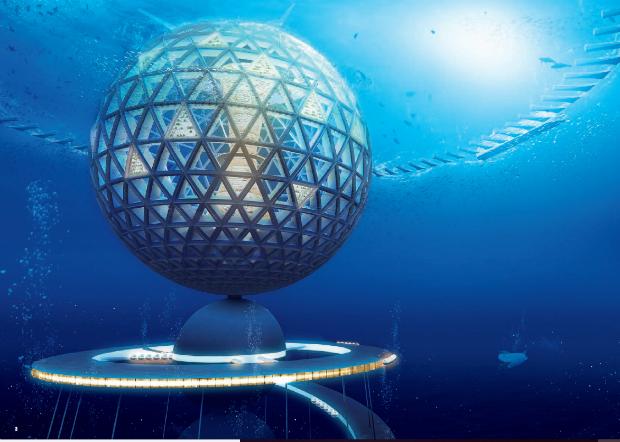 Le projet d'Ocean Spiral, un futur utopique pour les villes japonaises
