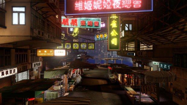 Hong-Kong, ville de néons (Sleeping Dogs - 2012)