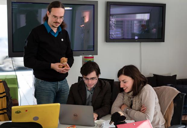 La cantine numérique de Rennes: un des nombreux espaces de co-working à avoir vu le jour ces dernières années