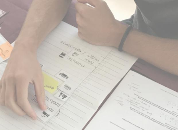 Des ateliers de design thinking ont permis à Margaux Le Gal de mieux comprendre les besoins des multi-actifs, notamment en matière de gestion du temps