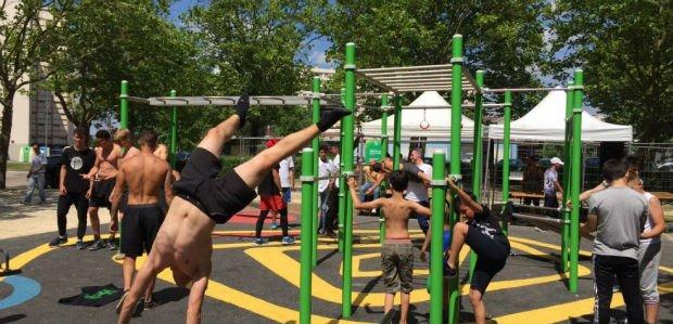 « Les terrains de street workout financés par les municipalités sont quasi exclusivement fréquentés par les garçons. »