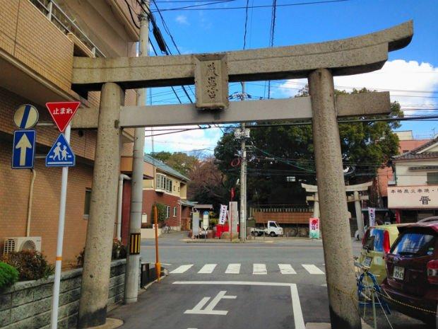 Le passage piéton béni des Dieux à Shimonoseki