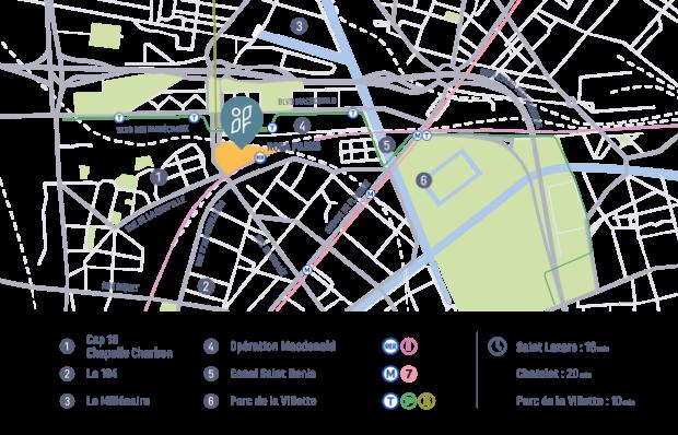 Une friche urbaine à fort potentiel, au cœur de nombreuses dynamiques métropolitaines.