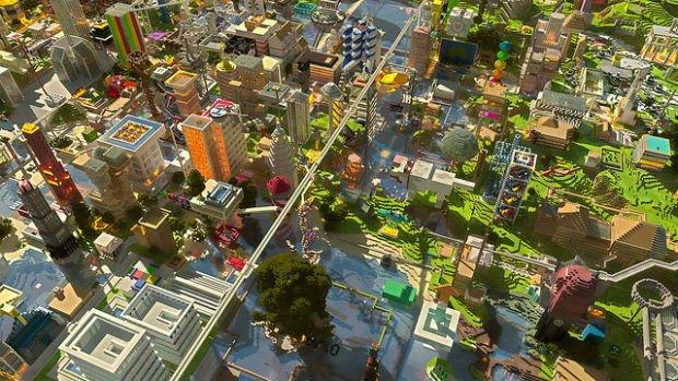 Les villes de pixels sont toujours plus vertes