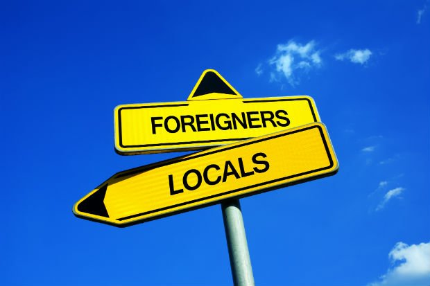 Foreigners or Locals