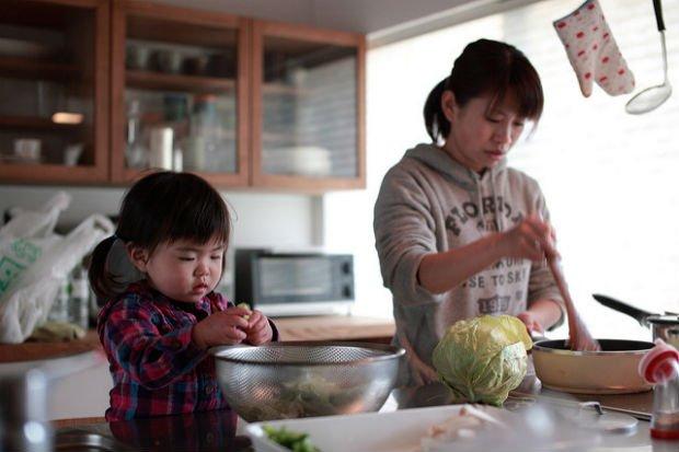 Préférez-vous : cuisiner ensemble ou se faire une sortie en famille