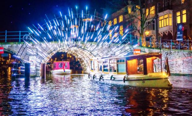 Le Amsterdam Light Festival permet chaque hiver de faire de la lumière un événement rassembleur