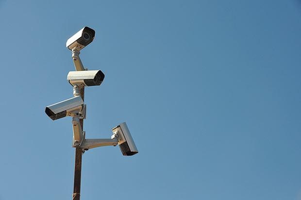 photo d une camera de surveillance