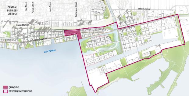"""À terme, Sidewalk Labs et la ville de Toronto veulent """"mettre à échelle"""" le projet Quayside dans les Port Lands"""