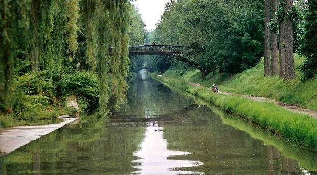 Balade sur le Canal de l'Ourcq dans la forêt de Sevran
