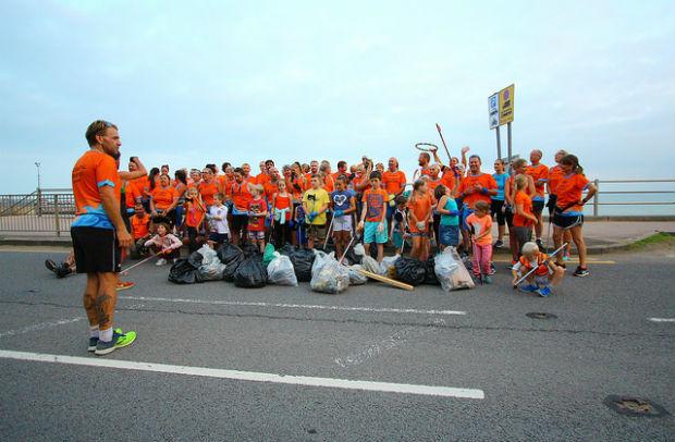 Une équipe de running multigénérationnelle et écolo