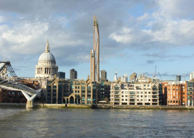 Les ingénieurs de l'université de Cambridge et les architectes de l'agence PLP Architects sont en train d'étudier la faisabilité de l'Oakwwod Tower