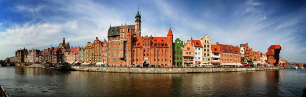 Gdansk en Pologne s'est reconstruite en puisant tout particulièrement dans son passé médiéval et ses influences néerlandaises.