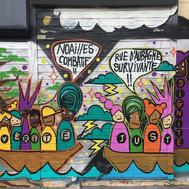Graffiti rue d'Aubagne