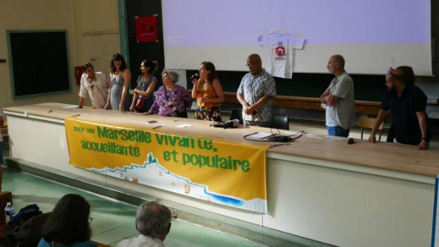 Lors des états généraux de Marseille à la faculté Saint Charles