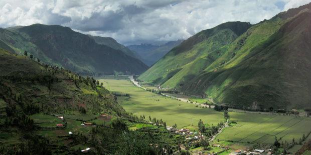 Vallée Sacrée des Incas vers Pisac au Pérou