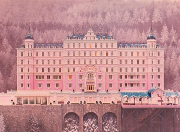Un écrin pour vivre à l'abri, aussi beau qu'un gâteau - The Grand Budapest Hotel