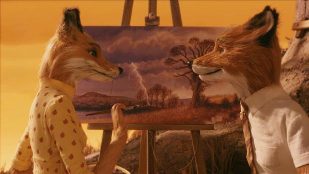 Mise en abîme d'un paysage - Fantastic Mr Fox
