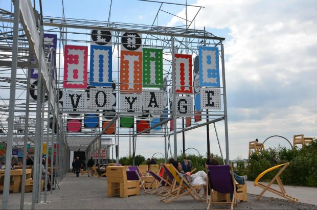 La Cantine du Voyage de Nantes est un des nombreux exemples de nouvelles terrasses urbaines ©Objectif Nantes