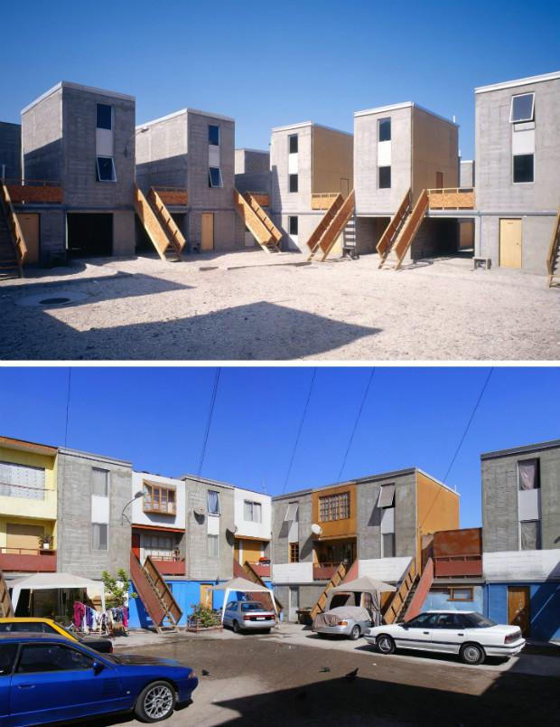 Elemental avait expérimenté le logement incrémental en 2002 à Iquique au Chili - Cristobal Palma/Elemental