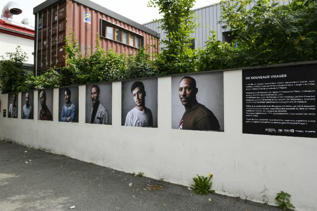 Exposition dans le quartier du projet - Habitat et Humanisme Rhône