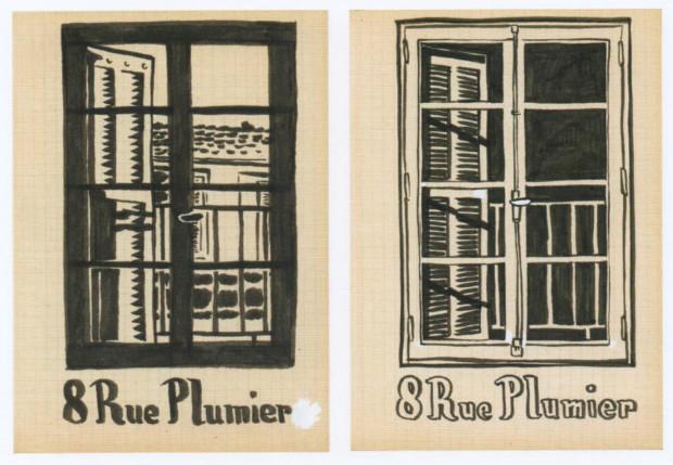 Marseille, 1999. Le 8 Rue Plumier est l'adresse de l'appartement qu'occupait Harder à l'époque