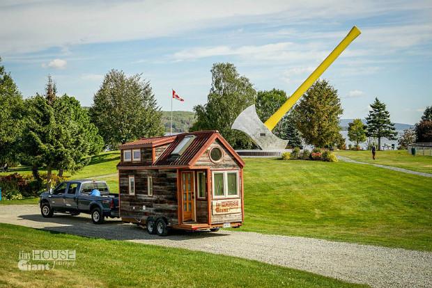 """Le blog """"Tiny House Giant Journey"""" raconte le quotidien dans une tiny house itinérante - Guillaume Dutilh/Wikipédia"""