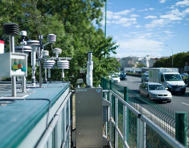 Station de mesure de l'air Airparif dans le 12ème arrondissement - Airparif