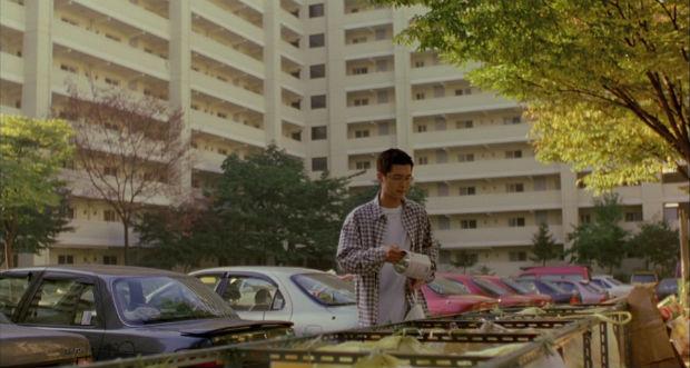 Tri sélectif, dans Barking Dogs Never Bites (2000)