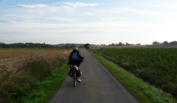 Quelque part à vélo entre la France et la Flandre - Alice Boidin