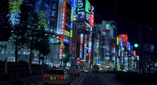 Tokyo la nuit, dans Lost in Translation (2003)