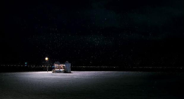 Juste un snack sous la neige, dans The Host (2006)