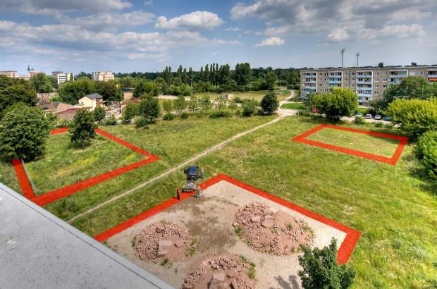 Délimités en rouge, les Claims de 400m2 valorisent le territoire et les actions qui y sont menées