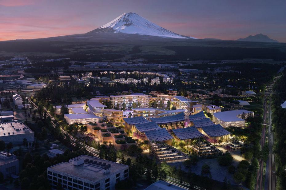 Toyota veut bâtir sa propre smart city au pied du mont Fuji
