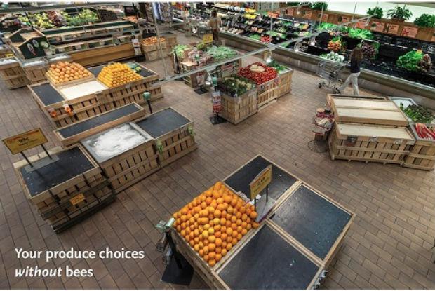 À quoi ressembleraient nos supermarchés si les abeilles disparaissaient complètement? © Whole Foods Market