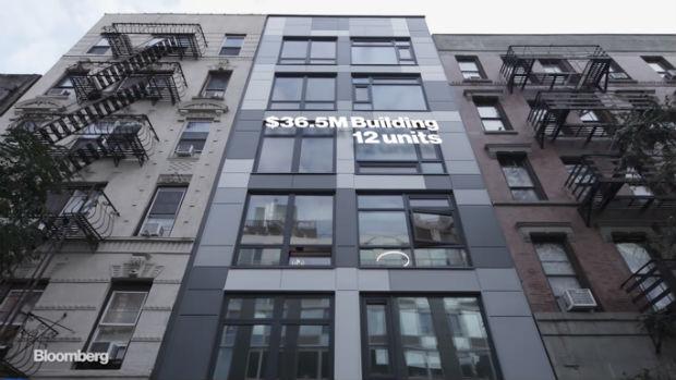 La première copropriété vendue sur la blockchain à Manhattan - Bloomberg