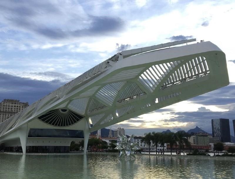 Le musée de Demain (2015), symbole des grands travaux entrepris à Rio avant les JO