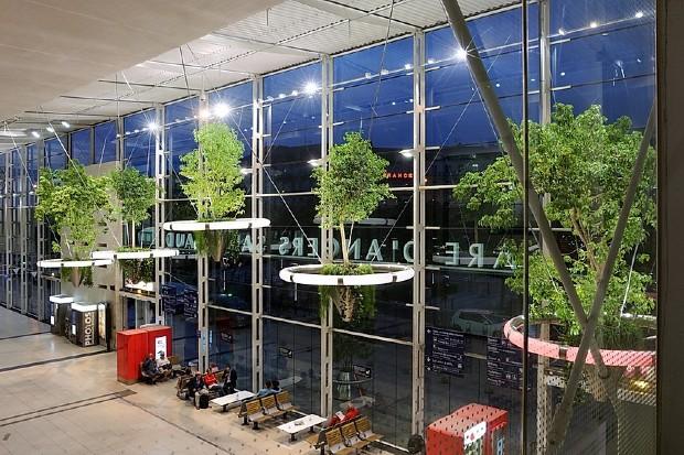 Installation en gare d'Angers - ©E. Saillet