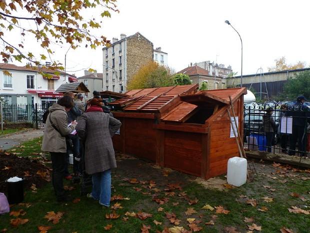 Pavillon de compostage de Montreuil ©️Francis Vérillon sur Wikipédia