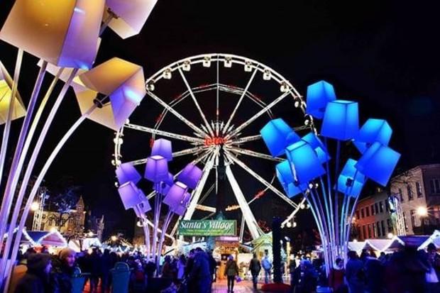 À Bruxelles, le marché de Noël Plaisirs d'Hiver s'est imposé en une dizaine d'années comme un événement majeur de la ville - Edison McCullen/Wikipédia