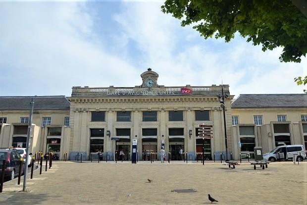 Gare d'Avignon Centre - crédit : Marianne Casamance sur Wikipédia