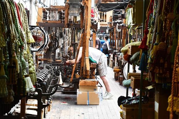 Unique atelier de fabrication de passementerie parisien, la Maison Verrier est en activité depuis 1753 - Jessica Lia/thefrenchmakers
