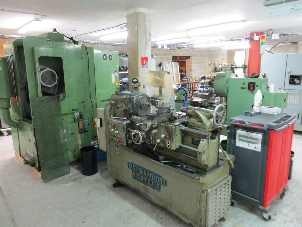 L'Electrolab est équipé de machines industrielles - Electrolab
