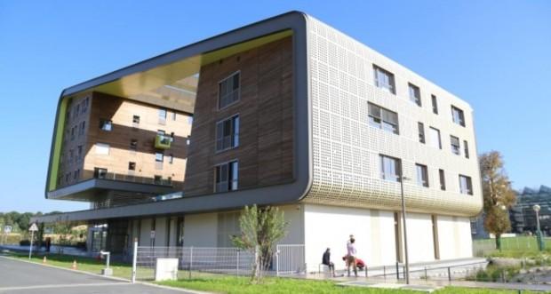 Le Bâtiment universitaire Descartes+