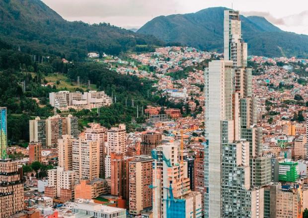 Paysage de Bogotá ©️ Bergslay via Pixabay